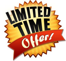Limitid time offer